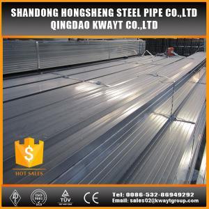 Best q195 pre galvanized square steel tube wholesale