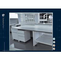 China Science Physics Modular Laboratory Furniture With Three Way Water Faucet For University on sale
