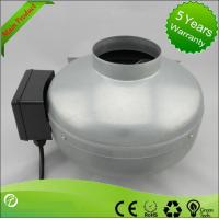 Best Low Noise Inline Circular Duct Fan / Centrifugal Duct Fan High Pressure wholesale