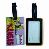 Best Soft PVC Luggage Tags, Suitable for Sales Promotional wholesale