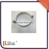 Quality Galvanized Metal Supporting Round Clamp Down Pipe Clamps Riveted Fixed Screw wholesale