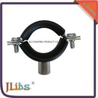 Best Zinc Plating Cast Iron Pipe Mounting Clamps , Black Iron Pipe Hangers wholesale