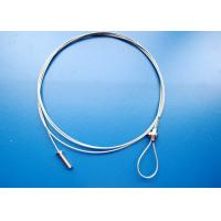 Industrial Uses Wire Cable Assembly With Threads Fittings And Wire Ropes Clips/ Nuts