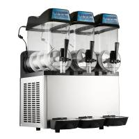 Best Single Compressor Ice Slush Machine Air Cooling With Three Bowl wholesale