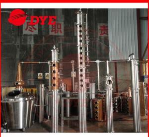 Best 500L Alcohol Distillation Equipment Commerical , Steam Distillation Apparatus wholesale