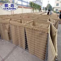 Best Defensive Barrier Retaining Wall Wire Mesh 4-5.0mm Wire Dia ISO9001 Certificated wholesale