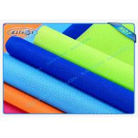 Best Green / Blue Package Material Polypropylene Non Woven Fabric Spunbond 80gsm Various Colors wholesale