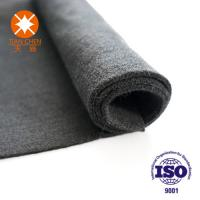Quality Non Woven Raw Material Needle Punched Felt Fabric 100% Polyester For Electric Blanket wholesale
