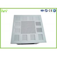 China Air Conditioning HEPA Filter Box ISO9001 Certificated With Smooth Diffuser Plate on sale