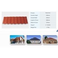 Best Waviness Stone Coated Roof Tile/Aluminum Zic Roofing Shingle/Colorful Sand Coated Steel Roof wholesale