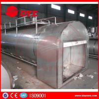 Best Refrigerated Milk Tank Stainless Steel Tanks For Dairy Milk Transportation wholesale