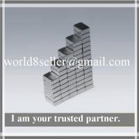 Buy cheap Professional Rare earth N35H Strong Permanent Ndfeb Block Magnets For electronic from wholesalers