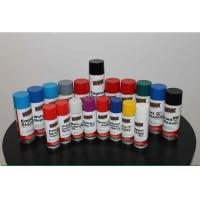 Best Highly Durable Colorful Spray Paint Scratch Resistant For Plastic / Metals wholesale