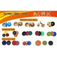 China Alloy Material Diamond Blade Cup Wheel Polishing Pads For Concrete And Terrazzo on sale