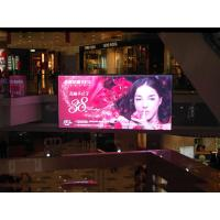 China 2017 indoor full color china electronic advertising p6 led screen on sale