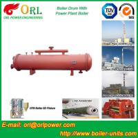 Best Single Gas Boiler Mud Drum Natural Circulation For Textile Industry wholesale