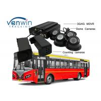 Best 3G / 4G Real-Time Monitoring Camera recorder with Bus People Counter GPS Tracking OSD wholesale