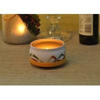 Best Large Colored Tin Candle Holders Box Personalised For Home Fragrance wholesale
