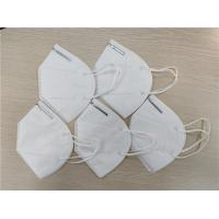 Best Anti Dust Safety Breathing KN95 Dust Mask Disposable White Face Shield Mask wholesale