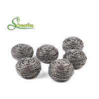 Best 25g Stainless Steel Scourer For Kitchen Pan Cleaning Strong Cleaning Capacity wholesale