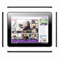Best 9.7-inch Tablet PC, Android 4.1.1 OS, Cortex-A9 Dual Core, Dual Cameras, Bluetooth 2.1 wholesale
