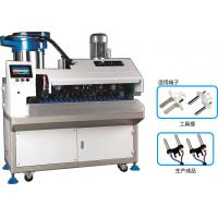 Best Update European Plug Inserts Automatic Wire Crimping Machine For 2 Core Round Cable wholesale