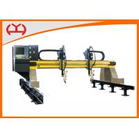 Quality Precise Small Gantry CNC Flame Cutting Machine With FASTCAM Bilateral Drive wholesale