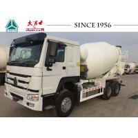 China Durable Heavy Duty Concrete Mixer Truck , HOWO Mixer Truck With Euro II Engine on sale