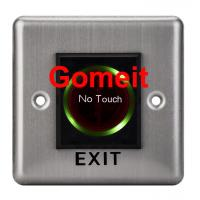 Best Stainless Steel No Touch Exit Switch / Door Button wholesale