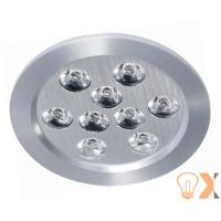 China 9*1W / 9*3W Powerful Red,Green,Blue LED light source LED ceiling downlight  on sale