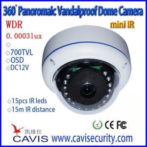 360degree Analog WDR Fisheye Camera HB-WDRS360VIR