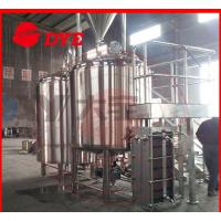 Best 500L Beer Brewing Equipment Pipe Welding , Stainless Steel Brewery Equipment wholesale