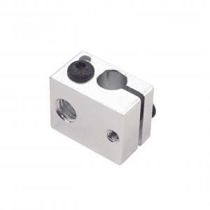 Best E3D V6 White Aluminum 8g 3D Printer Heater Block 20*16*12mm wholesale