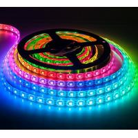 Buy cheap 30 LED/m Flexible LED Strip Lights SMD5050 DC5V Addressable ws2812b LED Strip from wholesalers