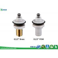 Cheap Dual Toilet Water Bottom Entry Fill Valve With Delay Fill For Toilet System Replacement for sale