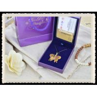 Best NEW Pure 999 24K Gold Butterfly Pendant Perfect Fly Butterfly Necklace , Personalized wholesale