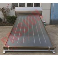 Best Integrated Pressurized Flat Plate Collector Rooftop Hot Water Heater Full Copper Aluminum Sheet wholesale
