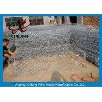 Best 80*100 Hot Dipped Galvanized Gabion Wall Cages Gabion Baskets For Bank Protection wholesale