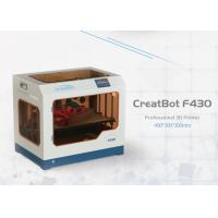 Best F430 Direct Wire Feeding CreatBot 3D Printer 1.75mm Filament High Accuracy wholesale
