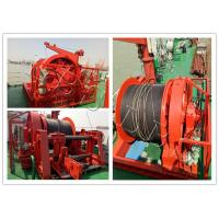 Best Ship Boat Marine Windlass Winch For Mooring Lifting Winch With Lebus Groove Drum wholesale