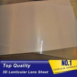 Best UV machine Print 3d Lens 100 LPI Resin PET Lens Plastic Flip 3D Lenticular Sheet 0.35mm 0.6mm lenticular films plastic wholesale