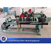 Best Positive / Negative Twist Barbed Wire Machine With Automatic / High Efficiency wholesale