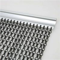 Best 2.0 MM Thickness Non-fading Hanging Chain Link Aluminium Fly Screen With Dimension 90x210 CM wholesale