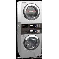 Best 13kgs COIN OP stack Washer Dryer/washer dryer/combo washer dryer/commercial washer dryer wholesale