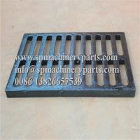 Best Class E600 duracoated extra heavy-duty 12 x 24 [305mm x 610mm] cast iron grate in frame from china wholesale