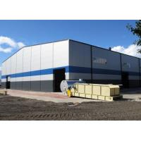 China Movable Gabled Steel Structure Workshop Custom Metal Buildings Easy Erection on sale