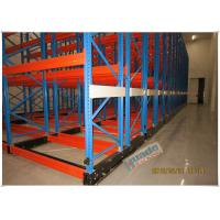 Best Rail Guided Mobile Storage Racks Warehouse Racking Shelves For Optimizing Space wholesale