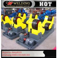 Best Automatic Vessel Welding Pipe Welding Rotator With PU Rubber Roller 15000kg wholesale