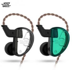 Best Black / Cyan Balanced Armature Headphones , 120cm Line Noise Reduction Headphones wholesale
