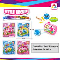 Best Press candy with toy candy in projection camera toys wholesale